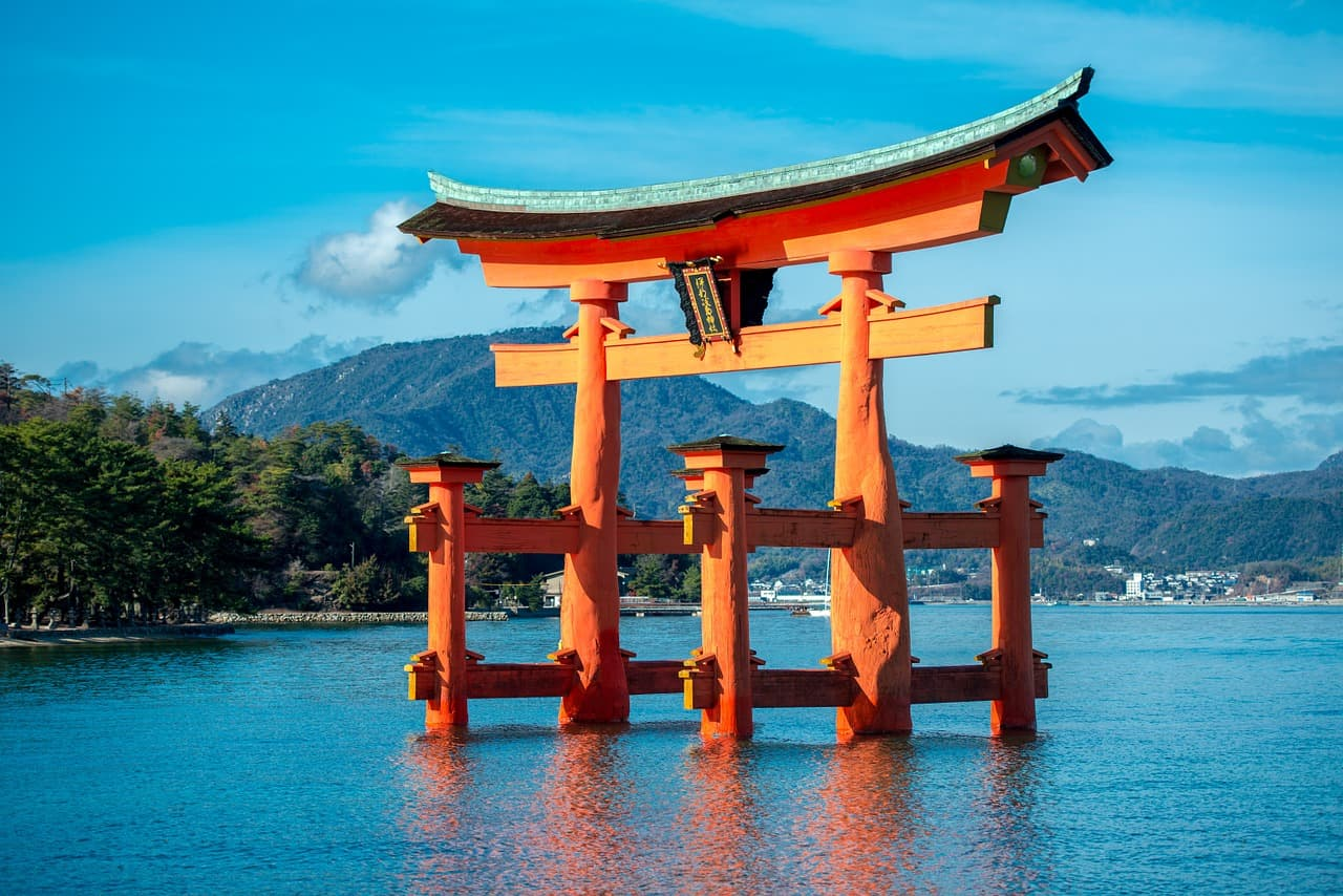 Japan torri