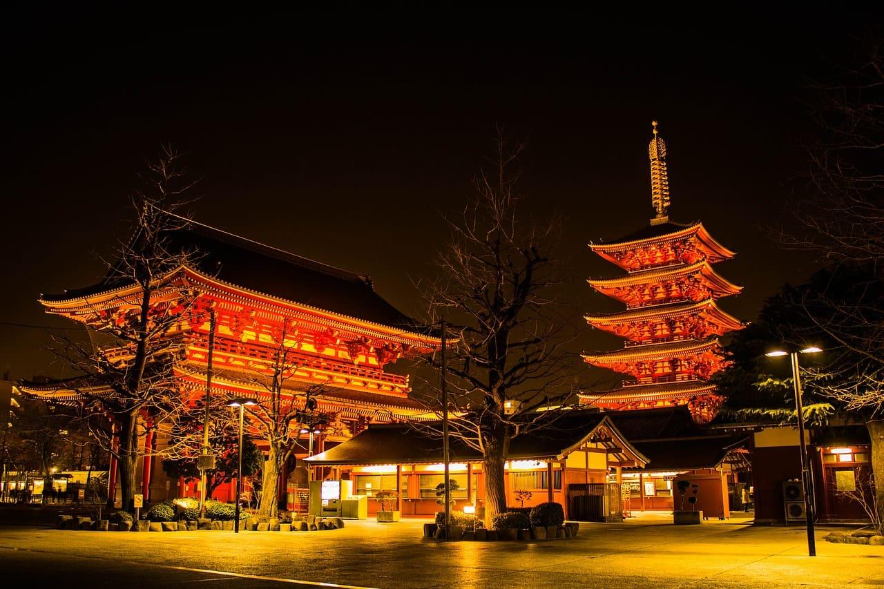 Senso-ji Tempel Tokio