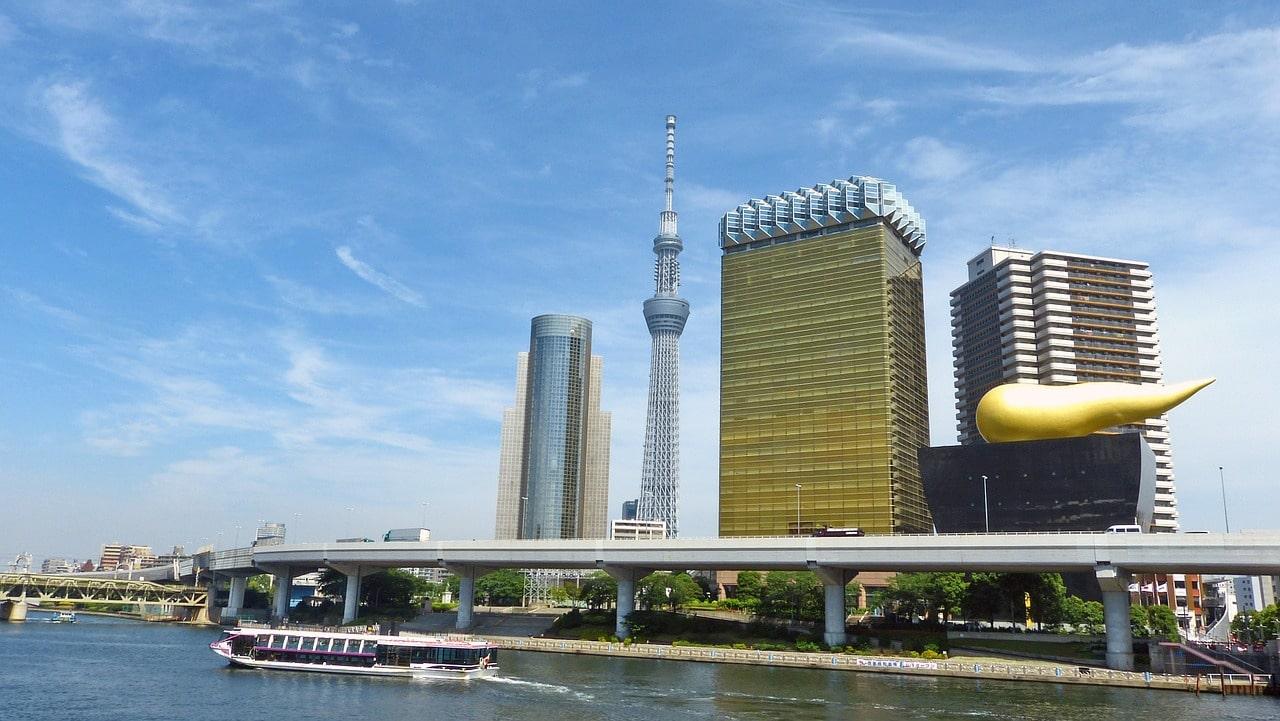 Sumida Fluss Tokio