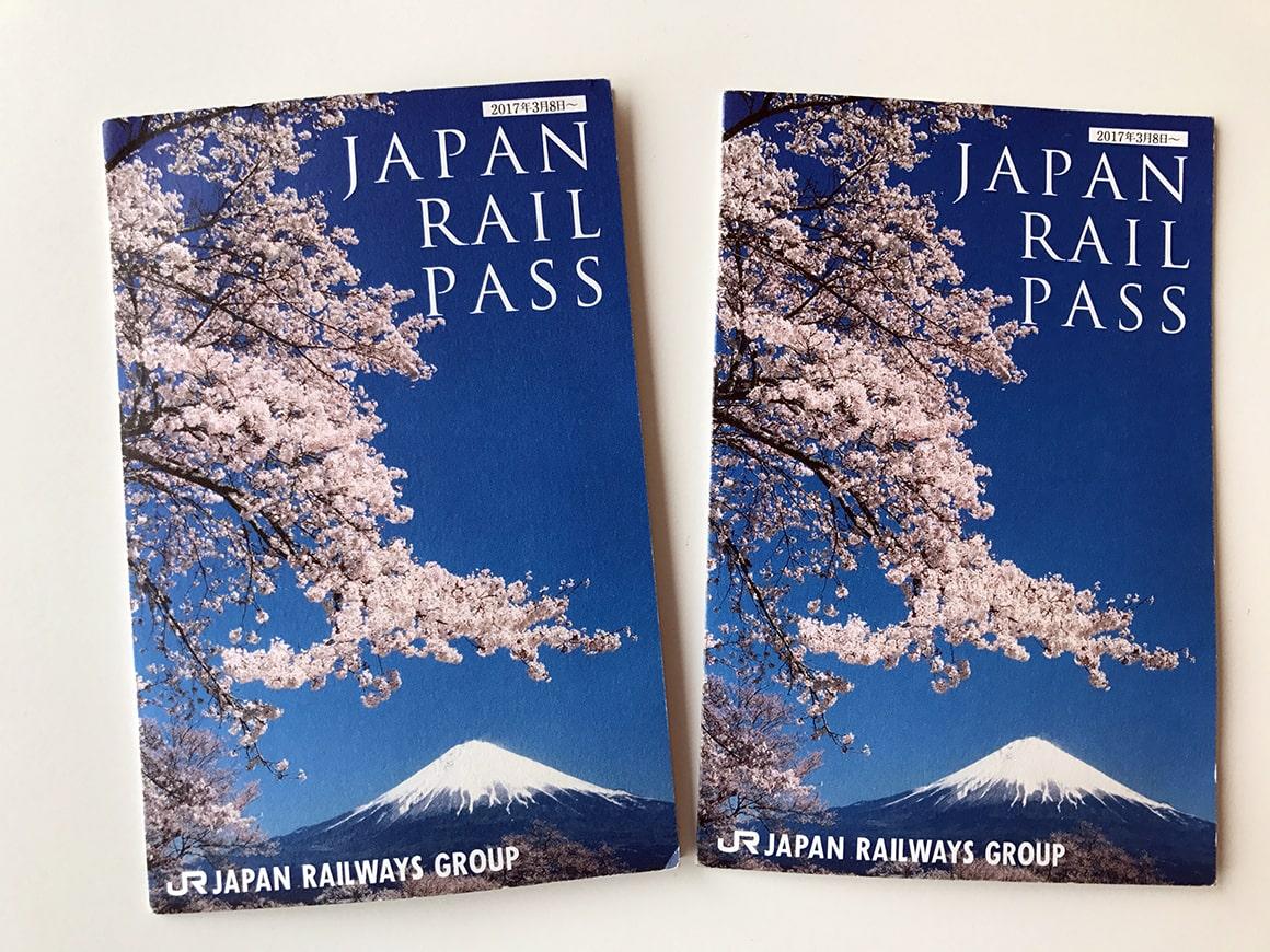 Japan Bahnpass / Raillway pass