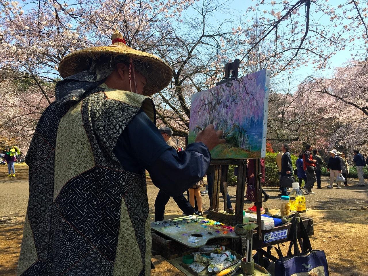 Japanische Kirschblüte Sakura