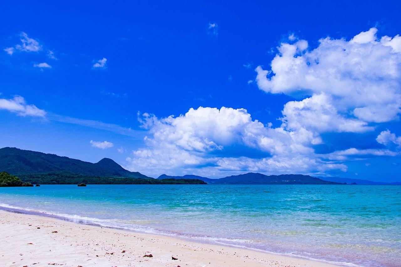 Miyako Inseln strand