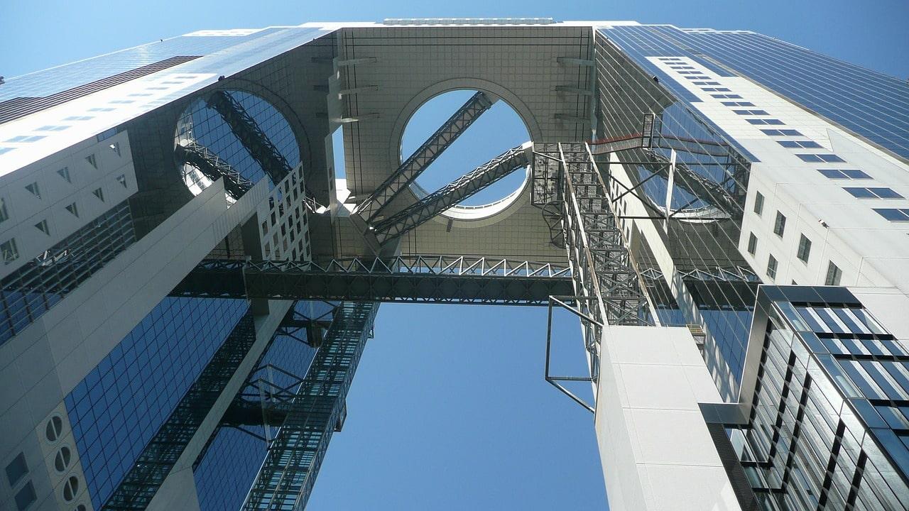 Osaka Wolkenkratzer