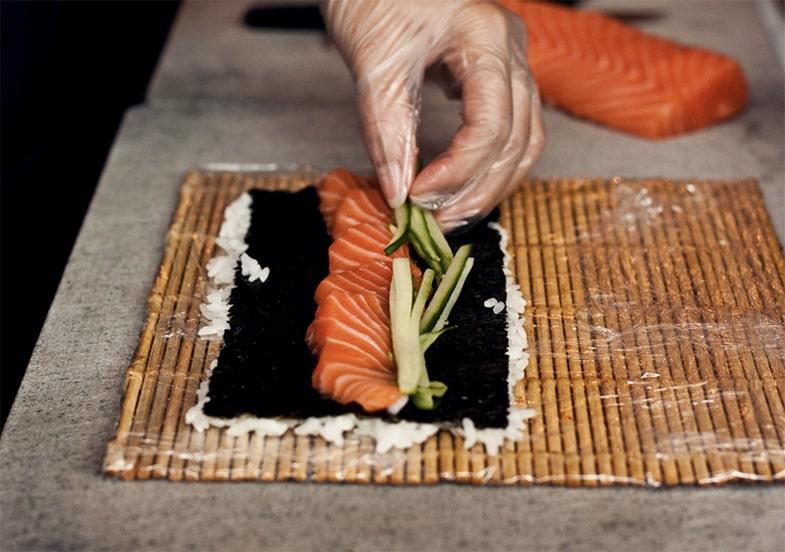 Sushi füllen