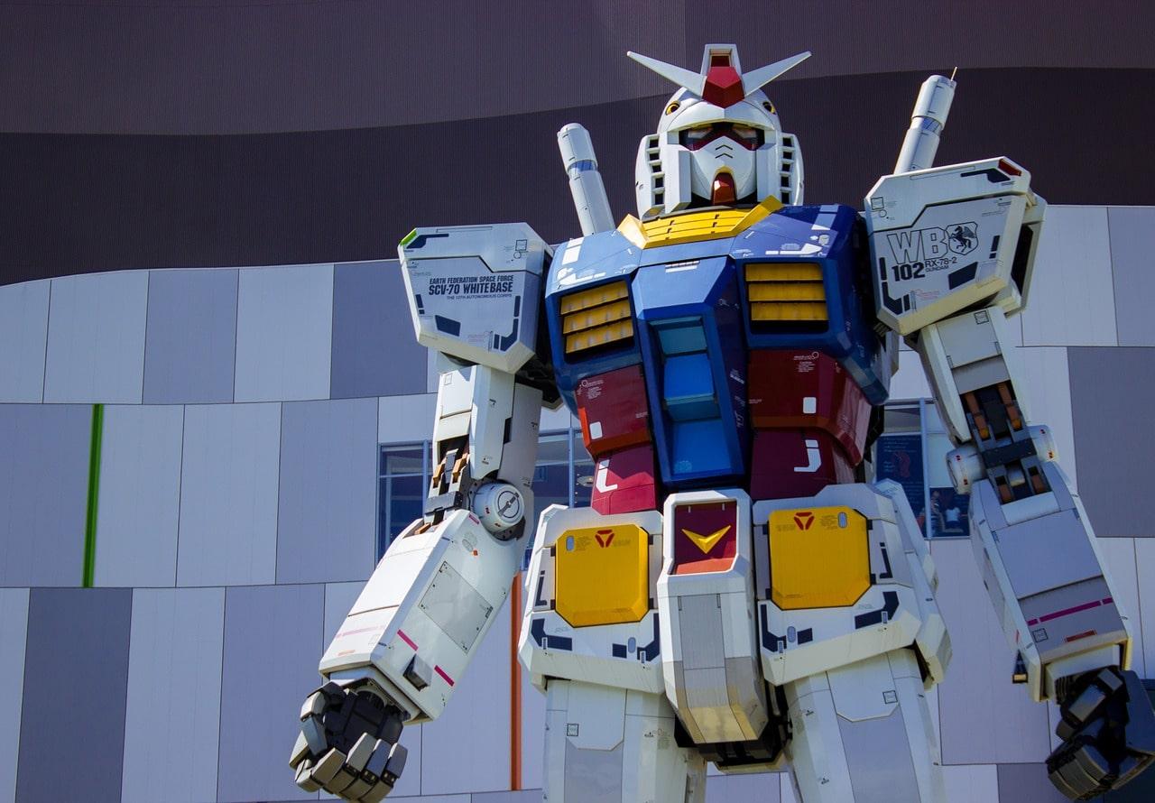 Tokio Roboter Gundam Odaiba