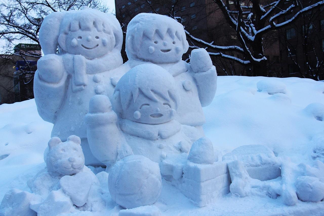 Wintersport Hokkaido Japan