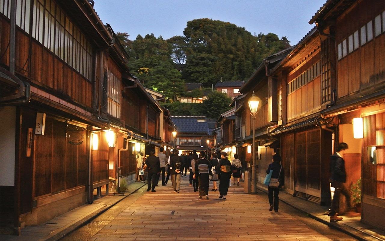 Higashi Geisha District Kanazawa