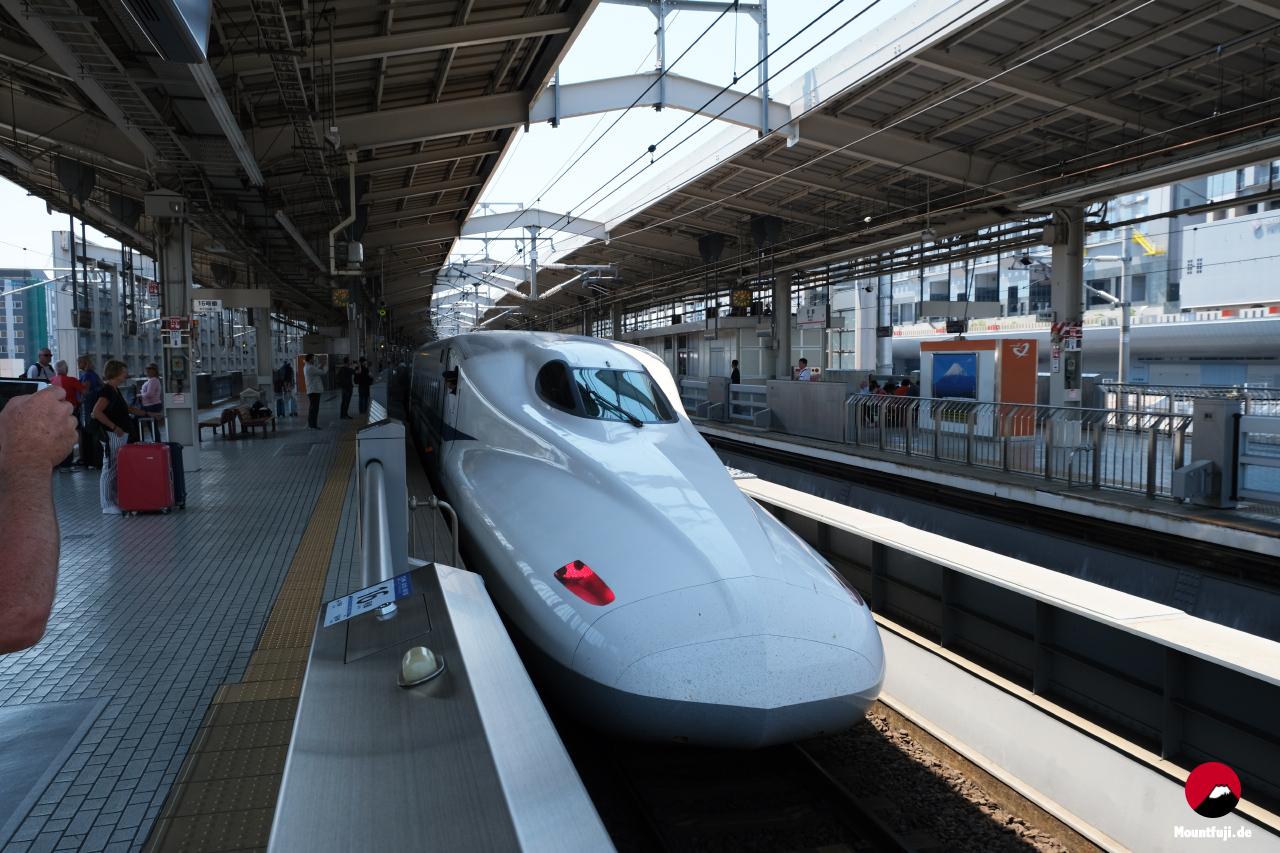 Shinkansen Kyoto Bahnhof